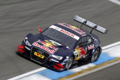 Mattias Ekstrom takes Hockenheim DTM pole for Audi as Dirk Werner puts BMW third
