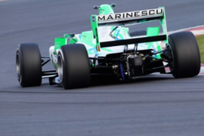 Mihai Marinescu on pole for second F2 race at Silverstone