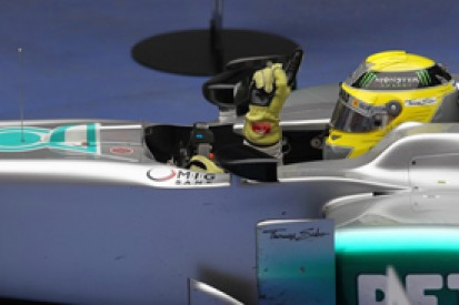 Chinese GP winner Nico Rosberg surprised by Mercedes race pace