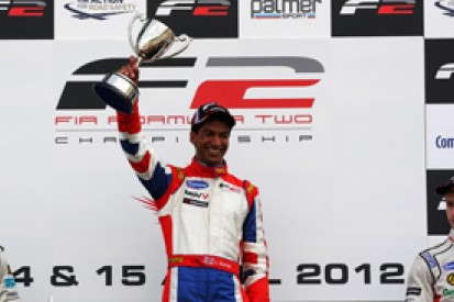 Luciano Bacheta charges to Formula 2 race one win at Silverstone