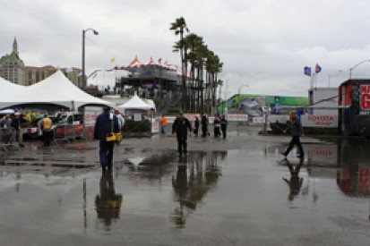 Second IndyCar practice at Long Beach washed out due to bad weather