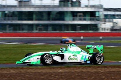 Mihai Marinescu again sets the pace in second F2 practice at Silverstone