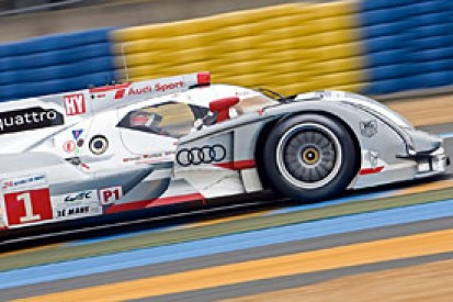 Lotterer puts #1 Audi e-tron on top by 1.3 seconds in Le Mans opening practice