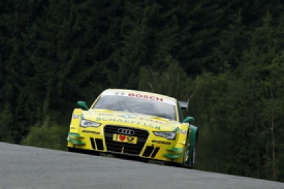 Audi's Mike Rockenfeller leads DTM practice one at Spielberg