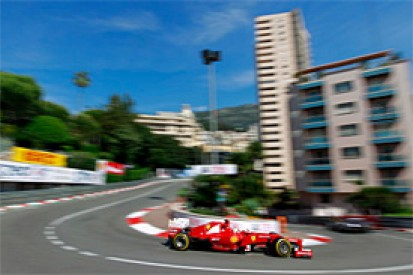 Fernando Alonso tops first Monaco GP practice