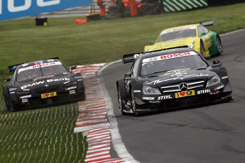 Gary Paffett cruises to home DTM win for Mercedes at Brands Hatch