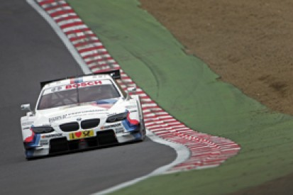 Martin Tomczyk leads Brands Hatch DTM practice for BMW