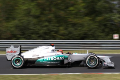 Michael Schumacher says Mercedes is simply not competitive following Hungarian Grand Prix qualifying