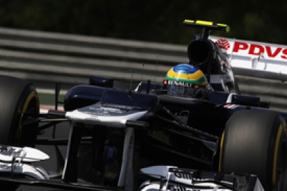 Williams driver Bruno Senna elated after qualifying in top 10 for Hungarian Grand Prix