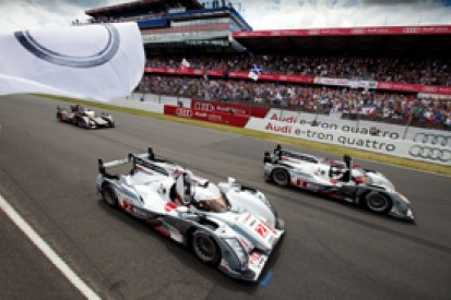 Audi dismisses reports that the hybrid system on its Le Mans-winning R18 failed early in the race