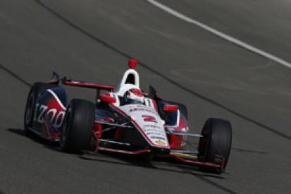 Fontana IndyCar: Ryan Briscoe leads practice for Penske