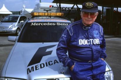 Former F1 medical delegate Sid Watkins dies aged 84