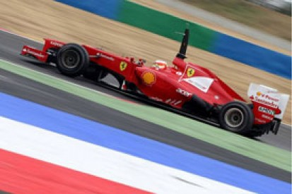 F1 Magny-Cours young driver test: Jules Bianchi fastest for Ferrari