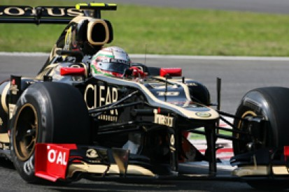Italian GP: Lotus driver Jerome d'Ambrosio satisfied with first day at Monza