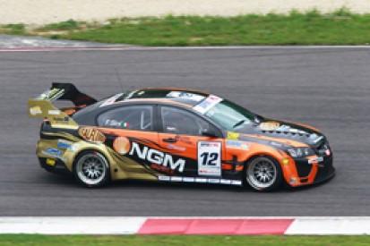 Francesco Sini tops Vallelunga Superstars test for Solaris Chevrolet