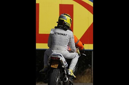 Belgian Grand Prix: Nico Rosberg blames himself for Spa Q1 exit