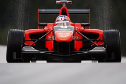 Spa GP3: Tio Ellinas leads crash-disrupted wet practice