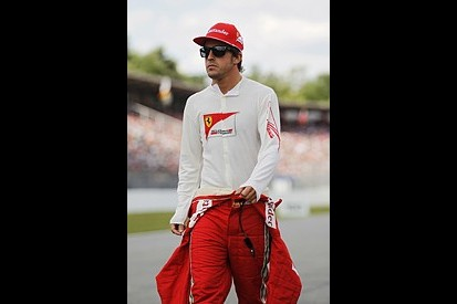 Fernando Alonso says his Ferrari is slower than the Red Bulls and McLarens of his F1 title rivals
