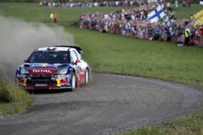 Sebastien Loeb holds Rally Finland lead ahead of Citroen team-mate Mikko Hirvonen
