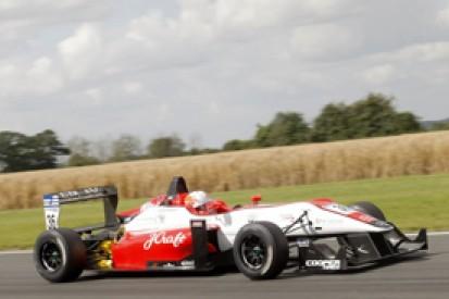 Alex Lynn tops Snetterton British Formula 3 test for Fortec, ahead of Carlin's Jack Harvey