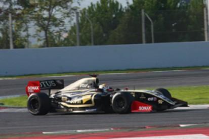 Marco Sorensen tops final day of Barcelona FR3.5 test for Lotus