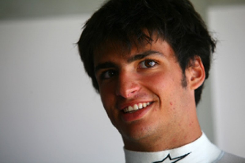 Carlos Sainz Jr heads Barcelona Formula Renault 3.5 test line-up