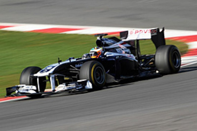 Luciano completes prize Williams F1 run at Silverstone