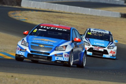 WTCC Sonoma: Alain Menu takes last-gasp pole for Chevrolet