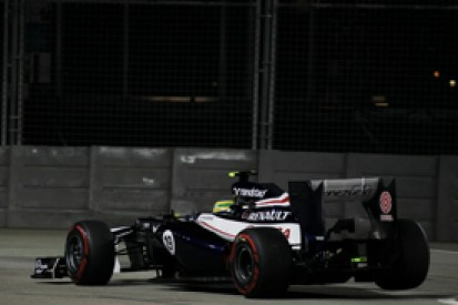 Singapore GP: Williams driver Bruno Senna to start 22nd after five-place gearbox penalty