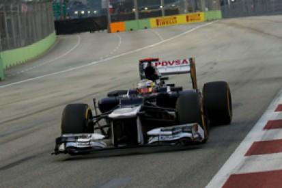 Singapore GP: Williams urges Pastor Maldonado to take no risks and finish on podium