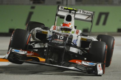Singapore GP: Sauber says poor qualifying peformance is down to new upgrades not working