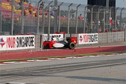 Singapore GP2: Luca Filippi ruled out of Sunday's season finale