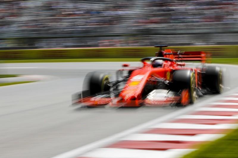 Kanada: Auch Ferrari startet mit neuen Antriebskomponenten