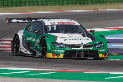 DTM-Training Misano: Wittmann nach Audi-Reifenschäden Schnellster