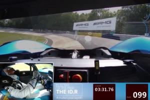 Onboard-Video: Rekordrunde des Volkswagen ID.R auf der Nordschleife