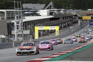 Porsche-Carrera-Cup Spielberg: Vierter Saisonsieg für Larry ten Voorde