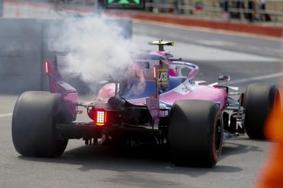 Motorschaden, Q1-Aus und Merchandise-Panne: Racing Point enttäuscht Heimfans