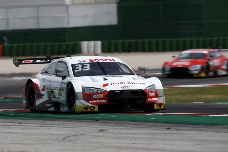 DTM-Qualifying Misano 2: Rast-Pole bei Audi-Festspielen, Dovizioso fliegt ab