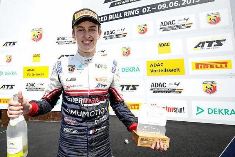 Formel 4 Spielberg: Pouchaire mit erstem Sieg nach Strafe gegen Hauger