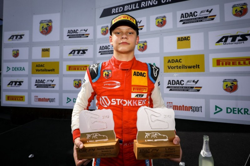 Formel 4 Spielberg: Rookie Paul Aron feiert ersten Sieg