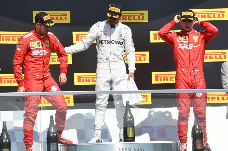 """""""Wir haben gewonnen"""": Vettel für Ferrari der moralische Sieger"""