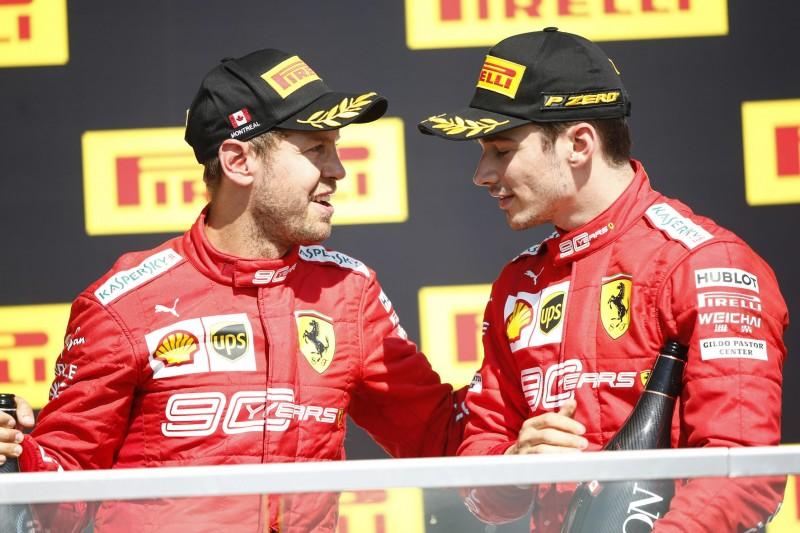Vettel-Strafe: Ferrari hatte vergessen, Leclerc zu informieren