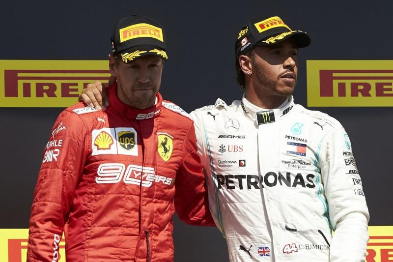 Auslaufrunde in Kanada: Hamilton wollte Vettel eine Taxifahrt anbieten