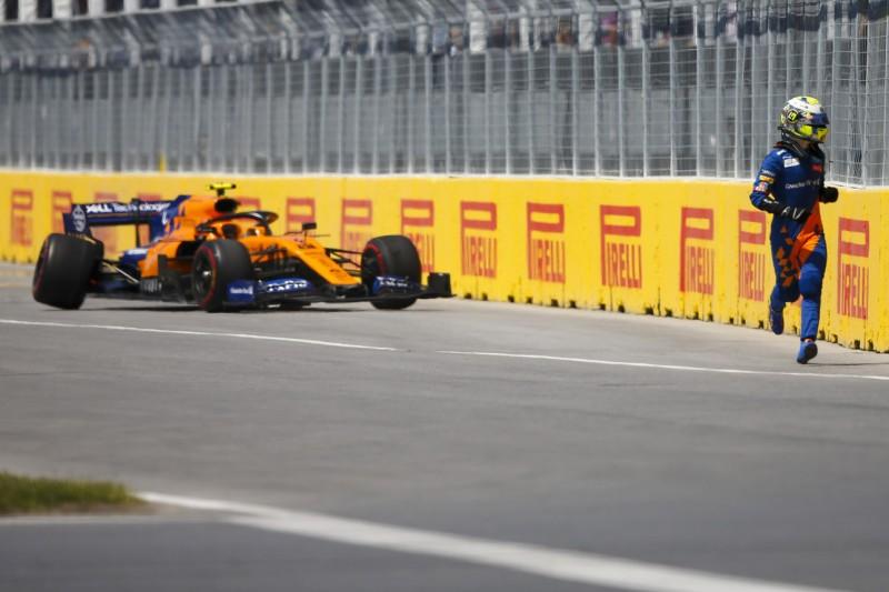"""Brennender McLaren: Norris fordert rasche Aufklärung des """"Mysteriums"""""""