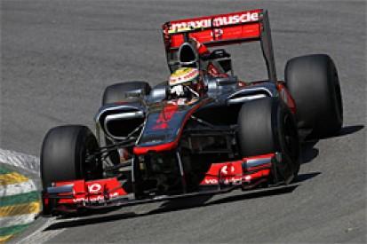 Brazilian GP: Lewis Hamilton tops opening practice from Vettel