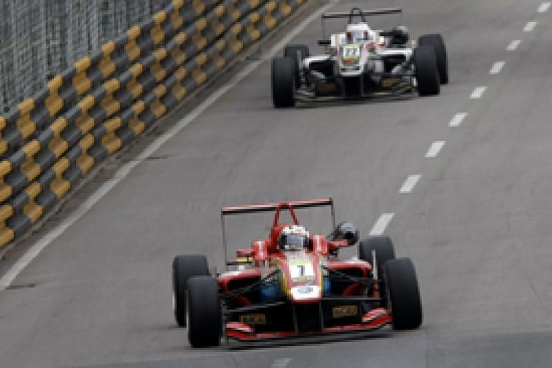 F3 Macau: Antonio Felix da Costa wins qualifying race for Carlin