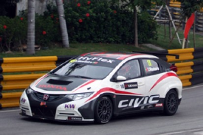 Macau WTCC: Honda aims to stay out of trouble, despite topping test