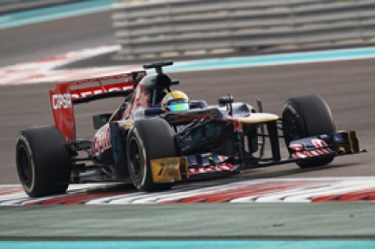 Toro Rosso says Abu Dhabi test useful for 2013 F1 car developments