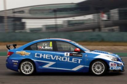 Shanghai WTCC: Alain Menu heads Chevrolet clean-sweep in FP2