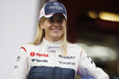 Susie Wolff keen to add GT campaign to Williams Formula 1 duties